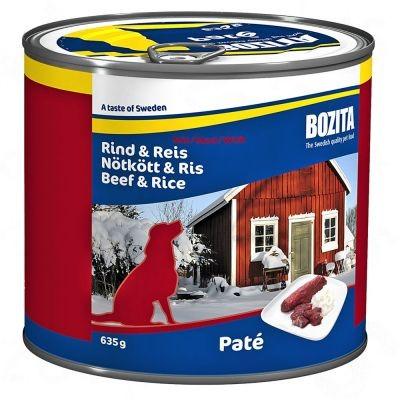 Boîtes Bozita pour chien