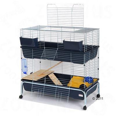 Cage Essegi Baffy 100 à 2 niveaux