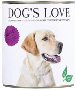 Alimentation pour chien Dog's Love à l'agneau