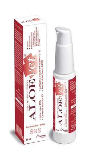 AloeVet, gel cicatrisant naturel pour les blessures