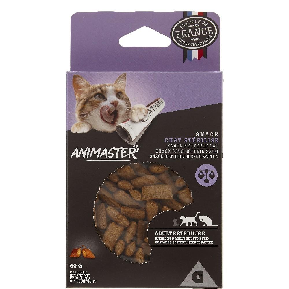 Snack pour chat adulte stérilisé