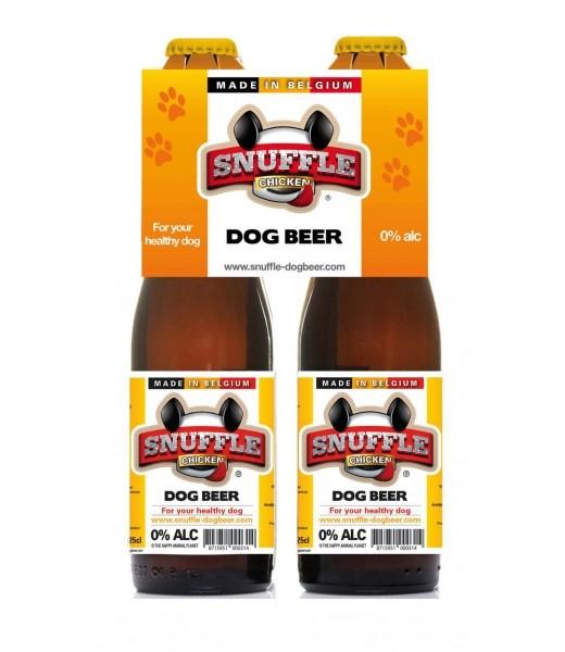 """Bière pour chien """"Snuffle"""" saveur poulet"""