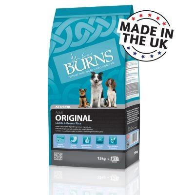 Burns Original agneau et riz brun pour chien