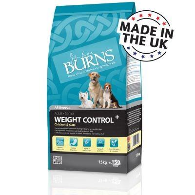 Burns Weight Control+ poulet et avoine pour chien