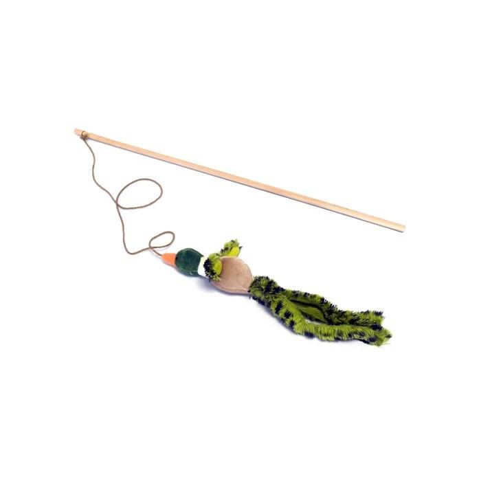 Canne à pêche pour chat Canard chanteur