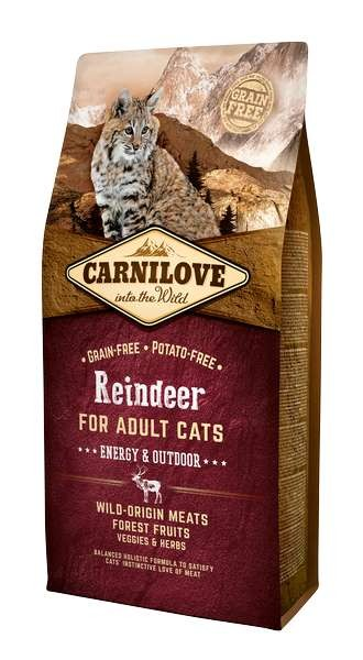 Carnilove Chat Adult Energy Outdoor Renne