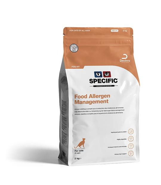Croquettes Specific Feline FDD-HY Food Allergy Management