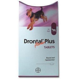 Comprimé Drontal Plus Aromatisé en forme d'Os