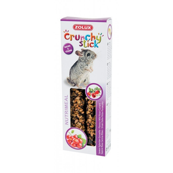 Crunchy stick pour chinchilla