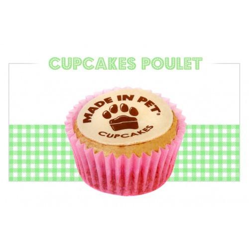 Sachet de 12 cupcakes au poulet pour chien