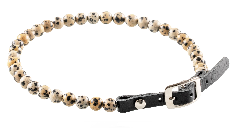 Collier en jaspe dalmatien - Sociabilité