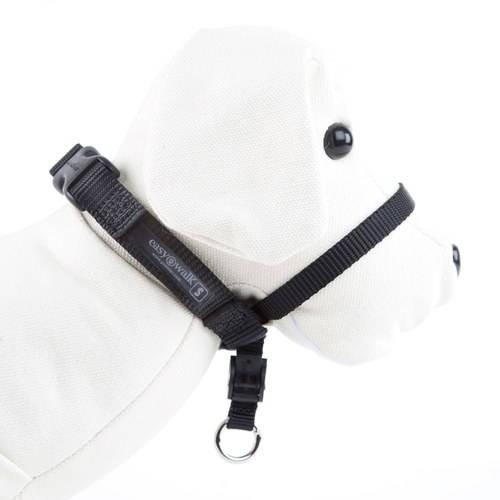Licol de dressage Easy Walk pour chiens qui tirent sur la laisse Couleur Noir