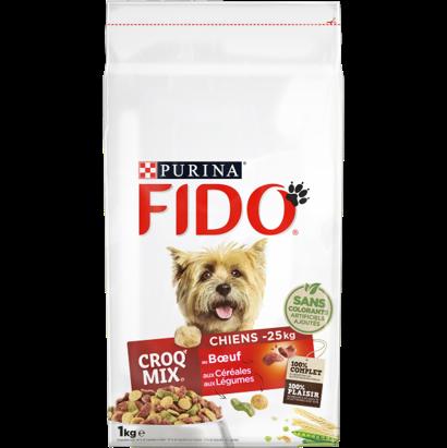 Fido Croq Mix chiens de moins de 25 kg