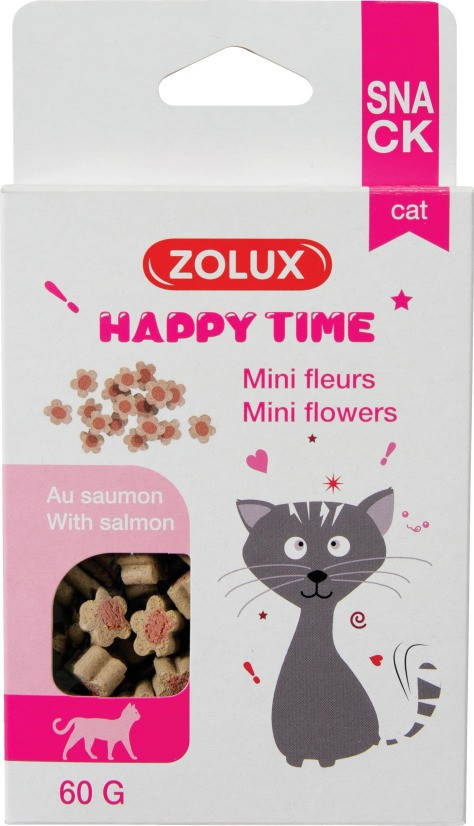 Happy Time Fleurs saumon
