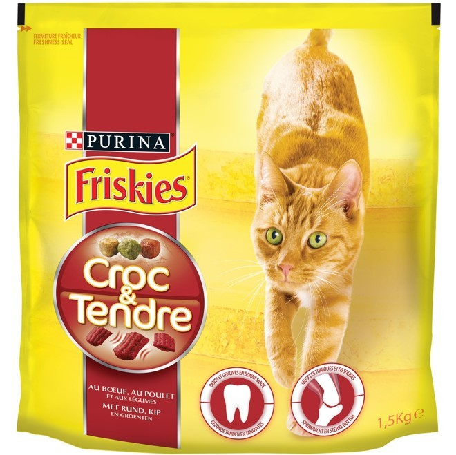 FRISKIES® Chat Croc&Tendre