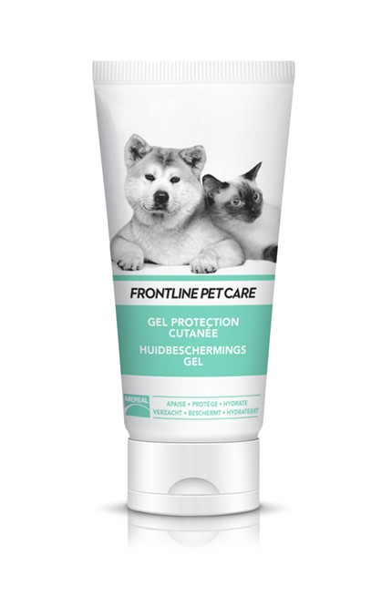 Gel protection cutanée pour chien et chat