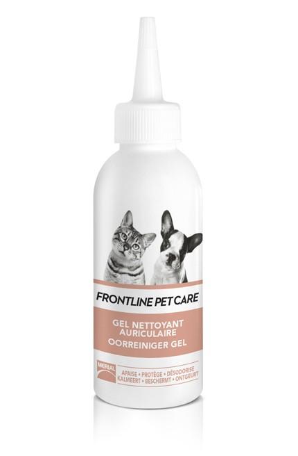 Gel Nettoyant auriculaire pour chien et chat