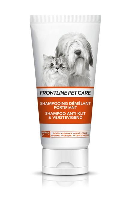Shampoing démêlant fortifiant pour chien et chat