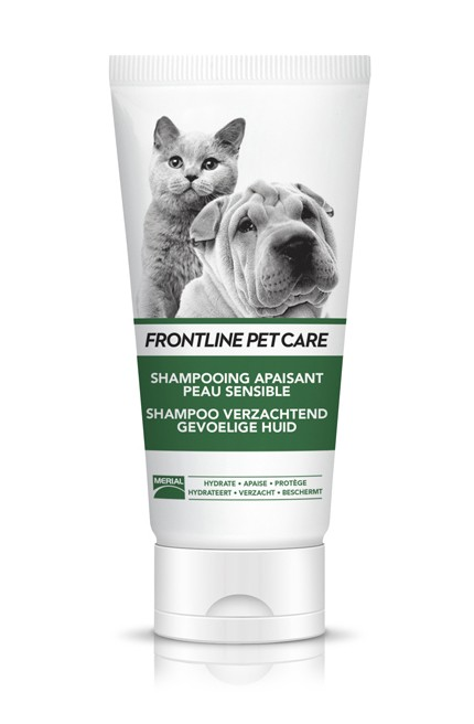 Shampoing apaisant peau sensible pour chien et chat
