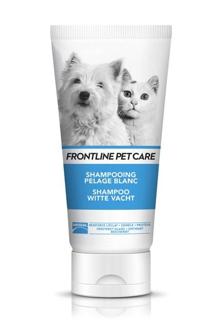 Shampoing pelage blanc pour chien et chat