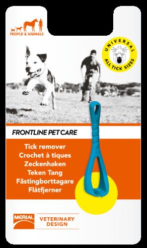 Crochet à tiques pour chien et chat
