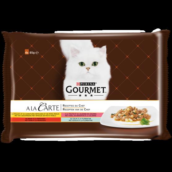 GOURMET® A La Carte Recettes du Chef