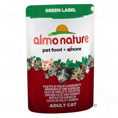 Sachets fraîcheur Almo Nature Green Label Filets