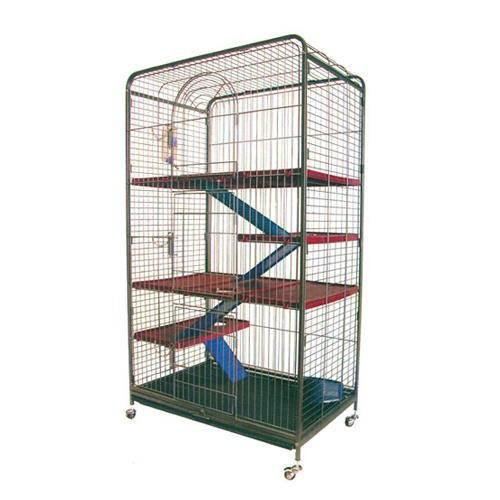 Cage à Furets Géante de 4 étages