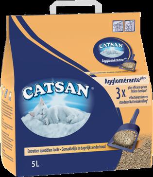 Litière CATSAN™ Agglomérante Plus