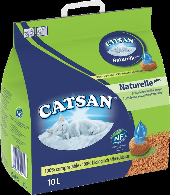 Litière CATSAN™ Naturelle Plus