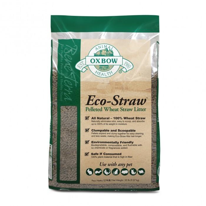Litière Eco-Straw