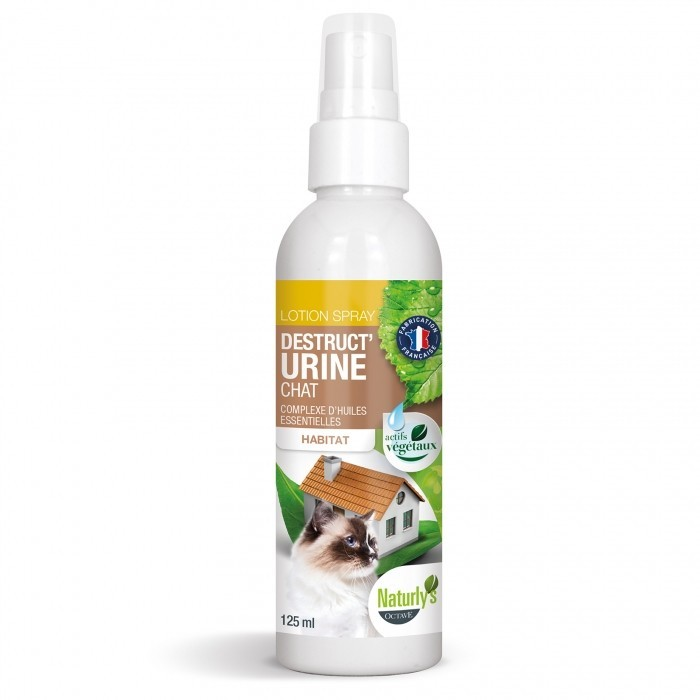 Spray Desctruc'Urine pour chat