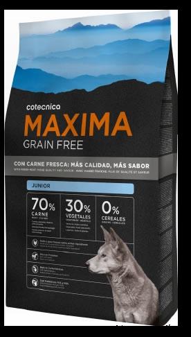 Maxima Grain Free Junior pour chiot