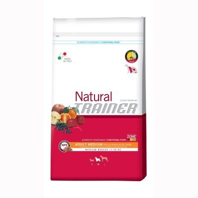 Trainer Natural Medium poulet riz & Aloe vera