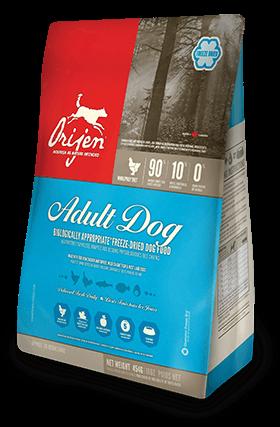 Nourriture lyophilisée pour chien