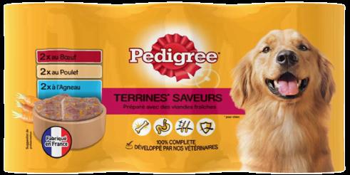 TERRINES SAVEURS pour chien