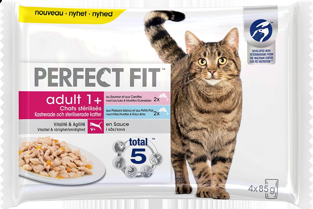 Sachet fraîcheur Perfect Fit™ Adult 1 an et + pour chats stérilisés