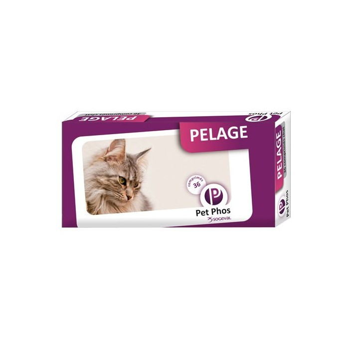 Pet-Phos Pelage Chat