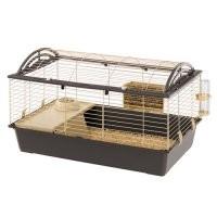 Cage Casita 100 pour lapin et cochon d'inde