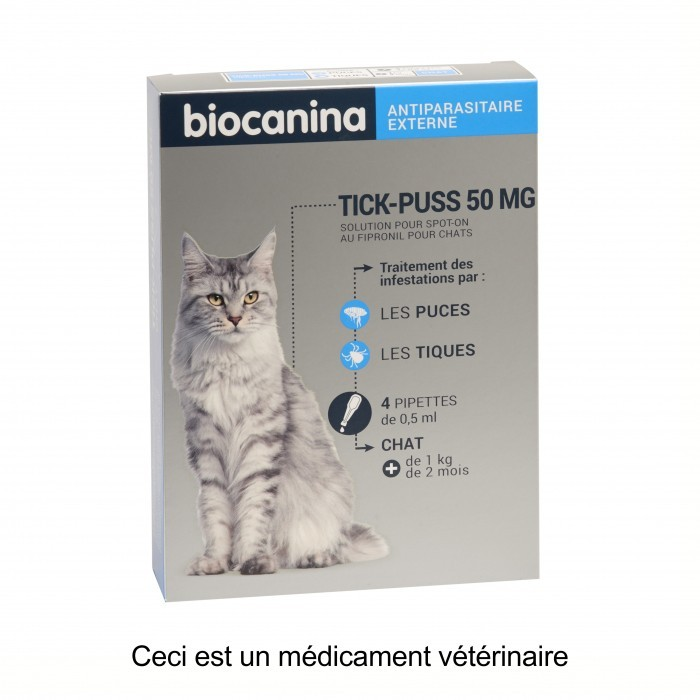 Pipettes Tick Puss pour chat