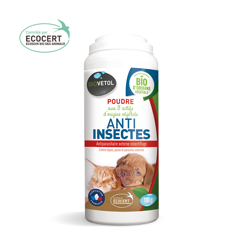 Poudre anti-insectes