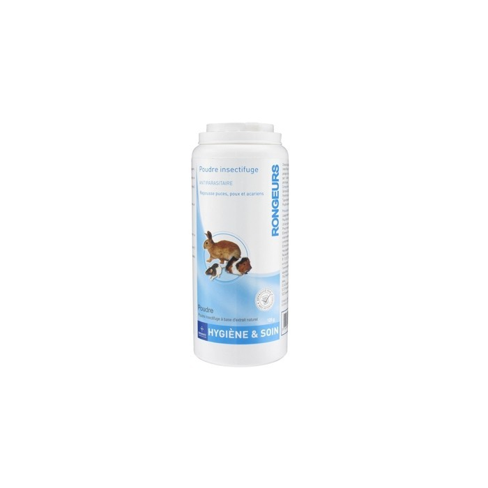 Poudre insectifuge pour rongeurs