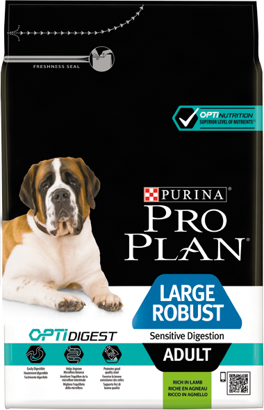 Large Adult Robust Sensitive Digestion OptiDigest Agneau