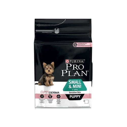 Puppy Small & Mini Sensitive OptiDerma Saumon