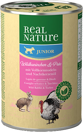 Pâtée REAL NATURE Junior