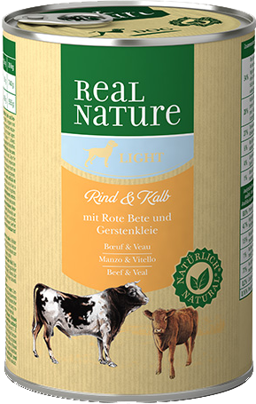 Pâtée REAL NATURE Light