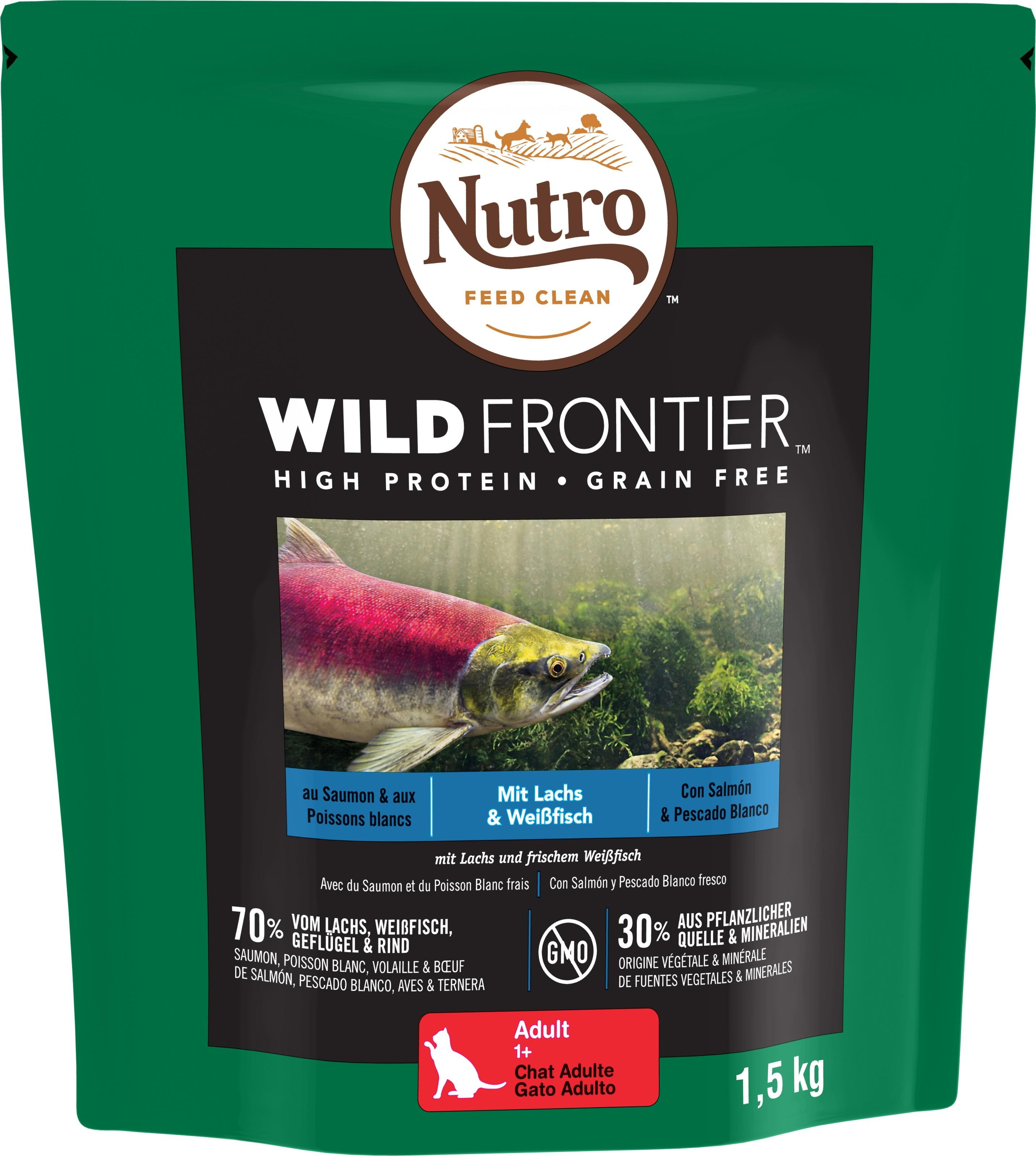 NUTRO™ WILD FRONTIER™ Chat Adulte