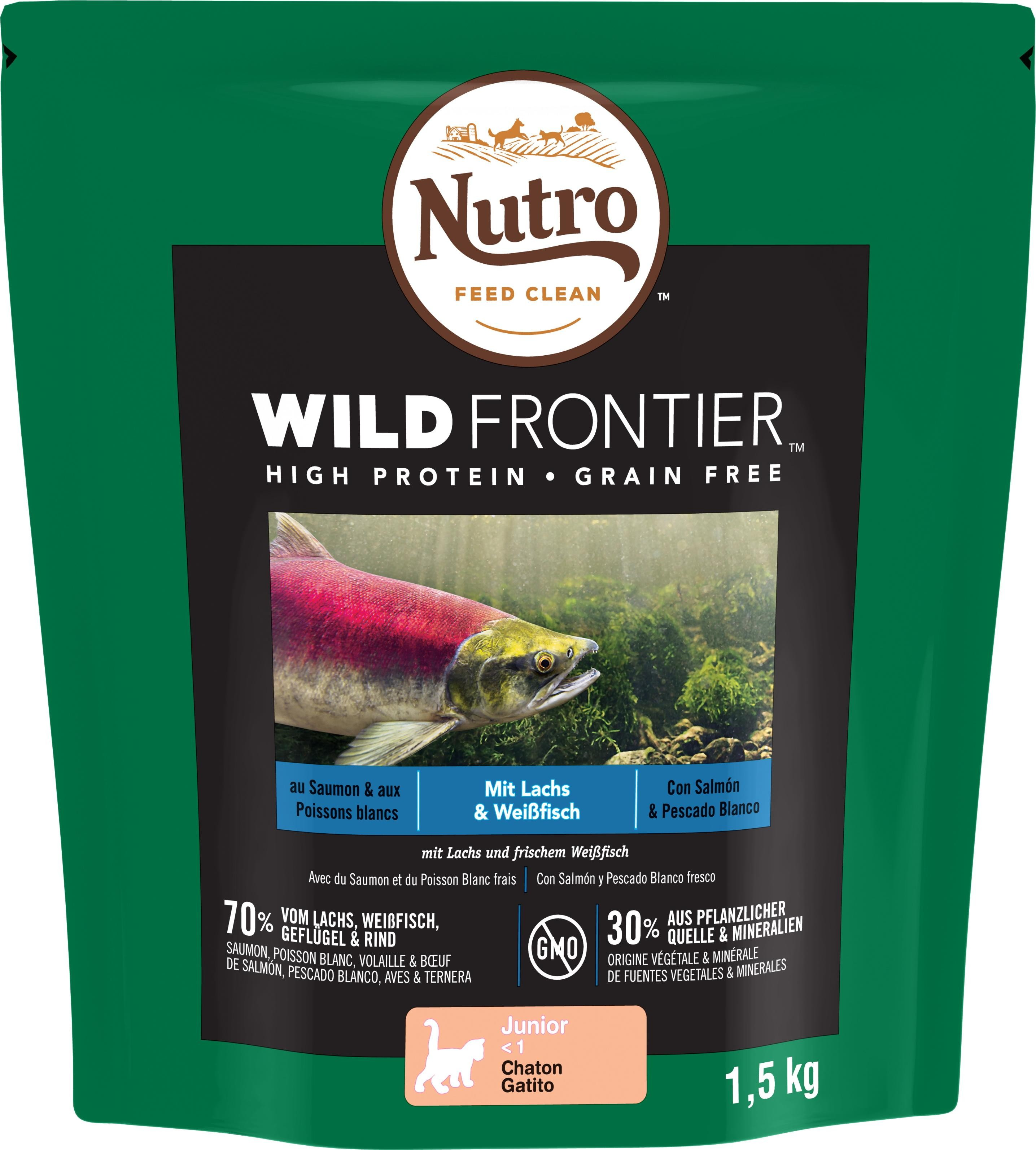 NUTRO™ WILD FRONTIER™ Chat Junior