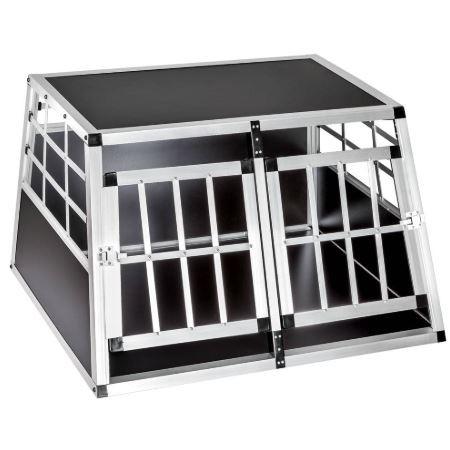 Cage de transport double à paroi droite