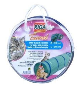 Tunnel d'exercice pour chat